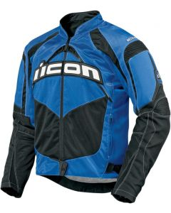 ICON Contra Fighter Mesh Sport Fit Jacket Blue