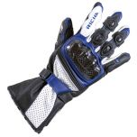Richa Ravine Leather Black/Blue