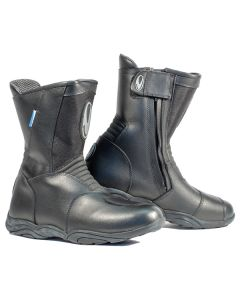 Richa Monza Leather/Textile Boot Black