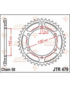 JT Sprockets Rear 48T 530 - JTR479.48
