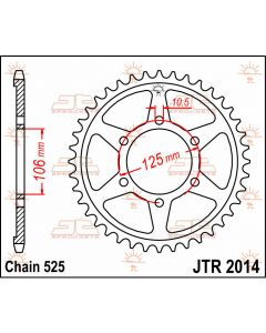 JT Sprockets Rear 50T 525 - JTR2014.50