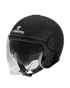 Caberg Uptown Open Face Helmet  Matt Black Matt