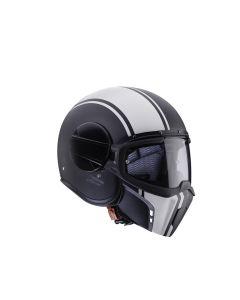 Caberg Ghost Hybrid Helmet Legend  Black/White