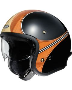 Shoei J.O. Open Face Helmet Waimea  Brown