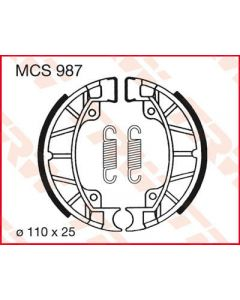 TRW BRAKE SHOES TRW MCS987