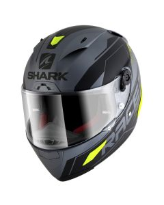 Shark Race-R Pro Sauer Helmet Anthracite/Black/Yellow