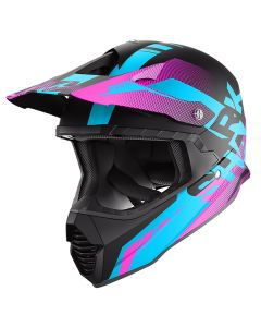 Shark Varial Anger Helmet Black/Blue/Violet