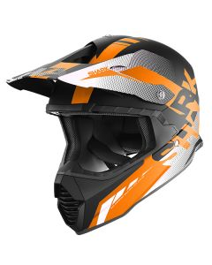 Shark Varial Anger Helmet Black/Orange/White