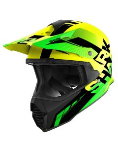 Shark Varial Anger Helmet Yellow/Black/Green