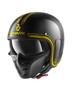 Shark S-Drak Vinta Helmet Carbon/Chrome/Gold