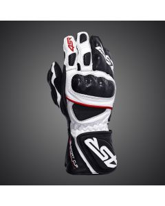 4SR Sport Cup Plus Leather Glove - Black Whte