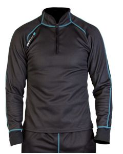 Spada Chill Factor 2 Thermal Long Sleeve Base Layer Black UK 12