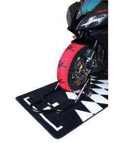 Motogp Standard Tyre Warmers Euro 2 Pin - 200/55-17 Rear 120/70-17 Front