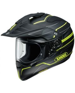 Shoei Hornet Adventure & Dual Sport Helmet Navigate  Yellow
