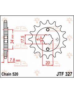 JT Sprockets Front 13T 520 - JTF327.13