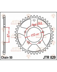 JT Sprockets Rear 46T 530 - JTR829.46
