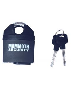 Mammoth Closed Shackle Padlock Hardened Steel Pin 62Mm Body