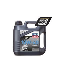 Liqui Moly - Oil 4-Stroke - Semi Synth - Street - 10W-40 - 4L