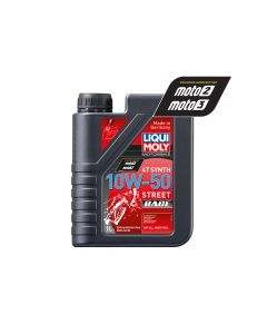 Liqui Moly - Oil 4-Stroke - Fully Synth - Street Race - 10W-50 - 1L