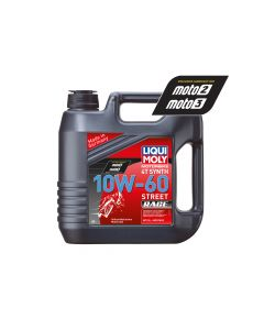 Liqui Moly - Oil 4-Stroke - Fully Synth - Street Race - 10W-60 - 4L