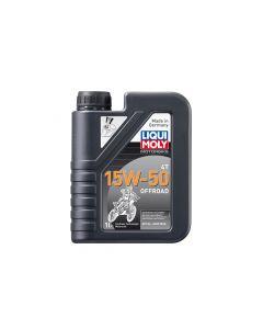 Liqui Moly - Oil 4 Stroke - Semi Synth - Off Road Race - 15W-50 - 1L