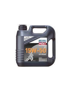 Liqui Moly - Oil 4 Stroke - Semi Synth - Off Road Race - 15W-50 - 4L