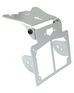 Number Plate Hanger Bracket Universal Adjustable With Indicator Mounts