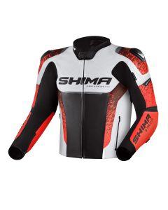 SHIMA STR 2.0 JKT RED FLUO