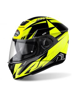 Airoh Storm Full Face - Battle Yellow Gloss - Large
