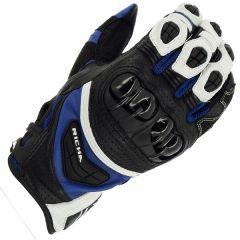 Richa Stealth Leather Black/White/Blue