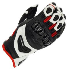 Richa Stealth Leather Black/White/Red