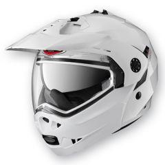 Caberg Tourmax Flip Up Helmet  Metal White