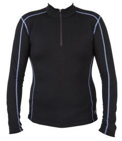 Spada Merino Wool Long Sleeve Base Layer Black UK 14