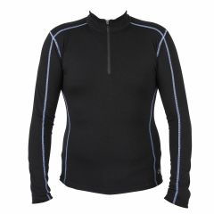 Spada Merino Wool Long Sleeve Base Layer Black XL