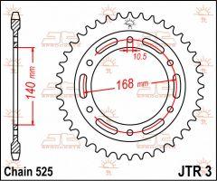 JT Sprockets Rear 41T 525 - JTR3.41
