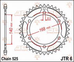 JT Sprockets Rear 42T 525 - JTR6.42