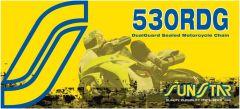 SUNSTAR SPROCKETS RIVET LINK 530RDG STEEL