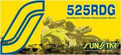 SUNSTAR SPROCKETS RIVET LINK 525RDG STEEL