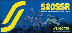 SUNSTAR SPROCKETS CLIP LINK 520SSR STEEL