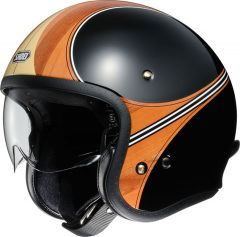 Shoei J.O. Open Face Helmet Waimea  Brown