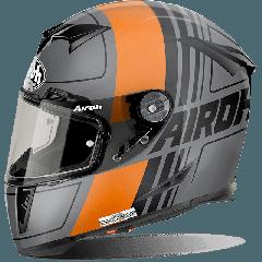 AIROH HELMET GP500 FULL FACE -  SCRAPE Orange Matt XS