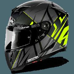 AIROH HELMET GP500 FULL FACE -  Sectors Yel Matt XS