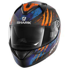 Shark Ridill Threezy Helmet Black/Orange/Blue