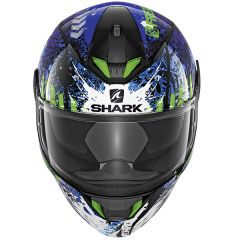 Shark Skwal 2 Switch Rider 15 Helmet Black/Blue/Green