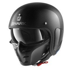 Shark S-Drak Skin Helmet Carbon/Silver/Black