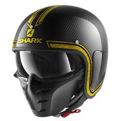 Shark S-Drak Vinta Helmet Carbon/Chrome/Gold