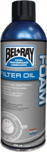 BEL-RAY OIL FOAM FILTER SPRAY 400ML