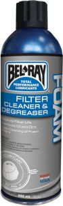 BEL-RAY CLEANER FOAM FILTER 400ML