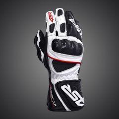 4SR Sport Cup Plus Leather Glove - Black Whte