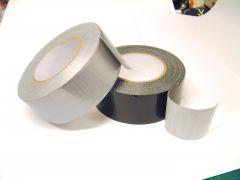 Duct Cloth Tape Black 1 Roll 50Mm X 50M